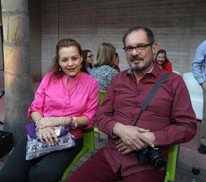 Maru Castañeda y Fernando Andrade.