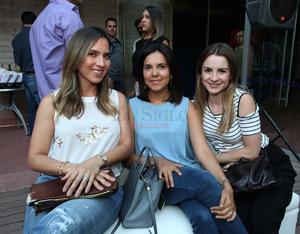 Daphnia, Lolita y Valeria.