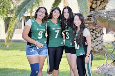 01062017 Paola, Lizteh, Andrea y Claudia.