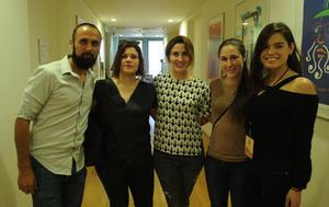03062017 David, Alejandra, Adriana, Charlotte y Valeria.