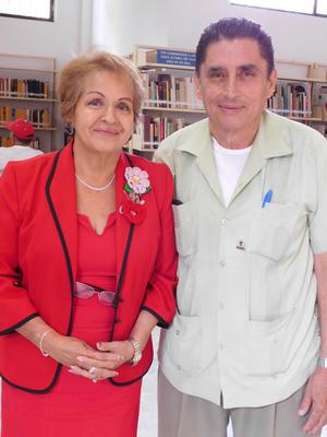 03062017 VELADA LITERARIA.  Irma Leyva Ramos y Francisco Pesqueira Carrasco.