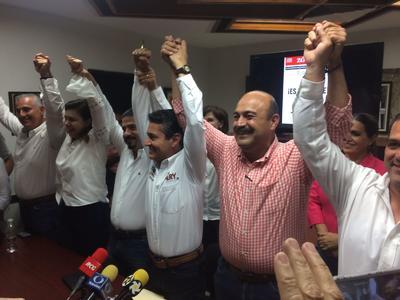 Mery Ayup dijo que el PRI se ratifica como el partido de la mayoría de los coahuilenses, como lo había expresado momentos antes el presidente de su partido Shamir Fernández.