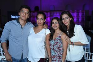 05062017 Andrés, Fernanda, Martha y Analú.