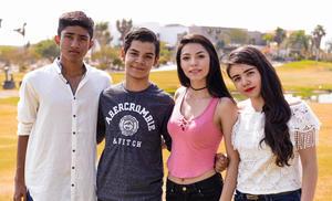 04062017 Diego, Christian, Martha y Jenny.