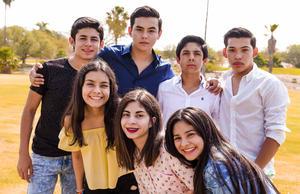 04062017 Brandon, Diego, Miguel, Conrado, Laura, Daniela y Jessica.