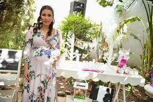05062017 BABY SHOWER.  Azucena Soto espera la llegada de Luciana.