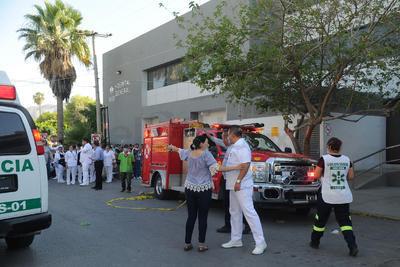 Elementos de Vialidad y Fuerza Coahuila llegaran a la clínica ubicada en Donato Guerra entre las avenidas Allende y Abasolo.
