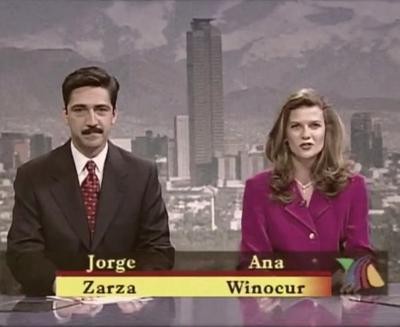 La noticia de su muerte se conoció la tarde del lunes y Jorge Zarza, que estuvo con ella casi dos décadas en varios noticiarios de TV Azteca, platica que esa historia pinta de cuerpo entero a la periodista.