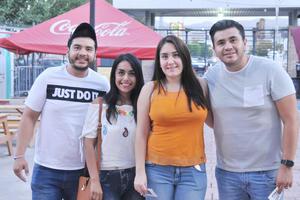 06062017 René, Anahí, Aída y Ramiro.