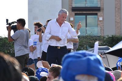 El alcalde electo Jorge Zermeño Infante, subió al templete y agradeció al pueblo de Torreón y de las comunidades aledañas por su participación.