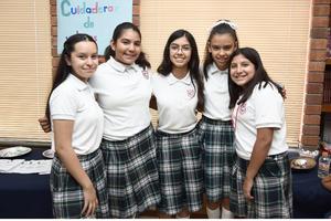 07062017 Marifer, Evelyn, Sofía, Zuleyka y Ana Victoria.