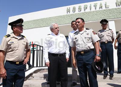 El comandante iIndicó que al igual que quienes se dedican a informar, los militares también corren riesgos al realizar sus labores de servicio a la sociedad.