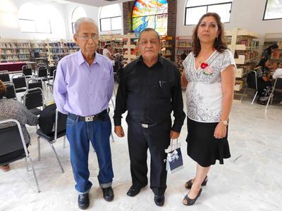 08062017 Juan Cruz Pérez, Rubén Rodríguez y Blanca Domínguez.
