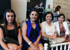 Ana Rojas, Alma Lee, Perlita Lee y Paty Lara