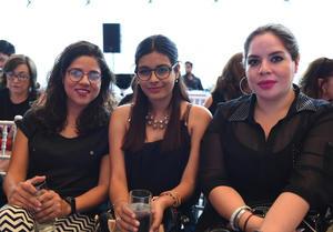 Cristina Alba, Diana Herrera y Carolina Alba