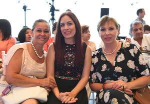 Edna, Lorena y Marichelo