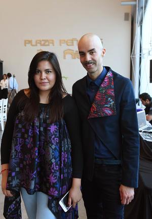 Larissa Torres y Rodolfo Durán