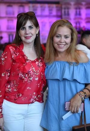 Lily Sánchez y Erika González