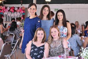 10062017 Karina, Cristina, Haydé, Liliana e Ivonne.