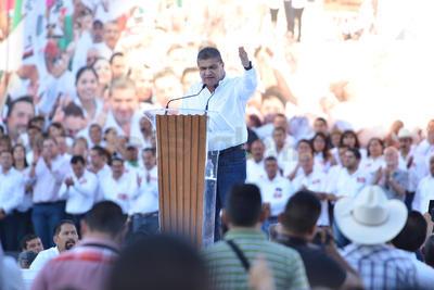Subrayó que su principal intención será la restauración y confianza entre las principales fuerzas políticas para mejorar las oportunidades de progreso del estado.