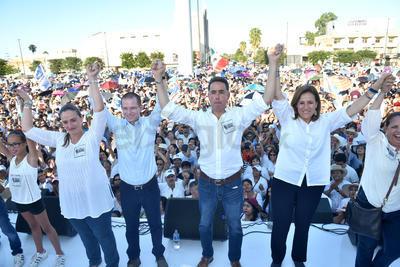 Ricardo Anaya, presidente nacional del PAN, dijo que se apoyará a Guillermo Anaya hasta el final y las últimas consecuencias, hasta lograr justicia que se anule esta elección.