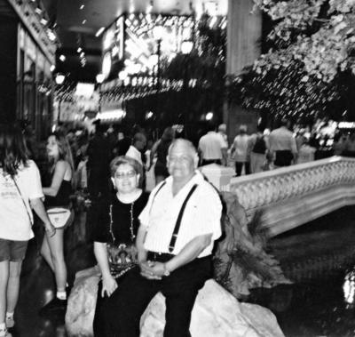 11062017 Sra. Graciela Lara de Rivera y Sr. José Luis Rivera Chairez en Las Vegas, Nevada.