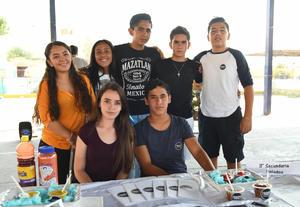 11062017 Irving, Ramón, André, Fernanda y Daniela.