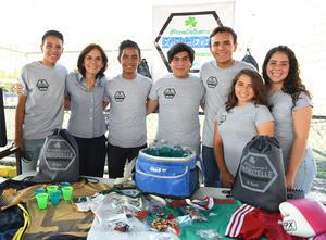 11062017 Lorena, Melissa, Franco, Víctor, Ashley y Sabrina.