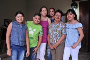 11062017 Tania, Rodrigo, Claudia, Soraya, Keny y Karime.