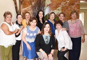 11062017 CLUB DE JARDINERíA JARDíN.  Las damas jardineras disfrutaron de su reunión mensual.