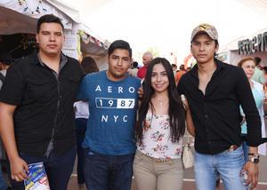 12062017 Carlos, Gerardo, Alejandra y Martín.