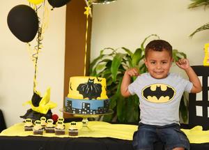 11062017 BATI CUMPLE.  Pablo Izquierdo Moreno en su fiesta de tres años.