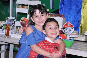 11062017 FIESTA INFANTIL.  Valentina y Santiago.