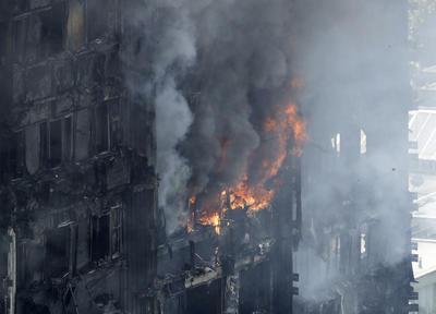 En el fuego murieron al menos 6 personas.