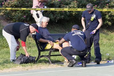 Testigos dijeron haber escuchado al menos 50 disparos.