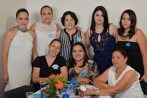 14062017 Sideli, Silvia, Nena, Adriana, Pamela, Charo, Claudia y María Luisa.