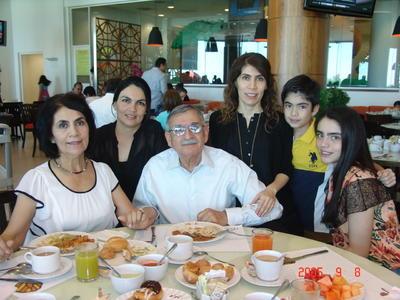 15062017 Ana María, Marcela, José Ángel, Adriana, Yani y Luisa.