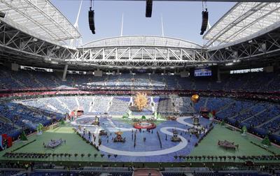 San Petersburgo fue el centro del mundo futbolístico por un momento.