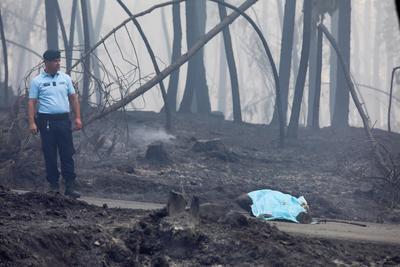 El balance de víctimas del incendio que asuela desde este sábado el centro de Portugal asciende a 62 muertos y 57 heridos.