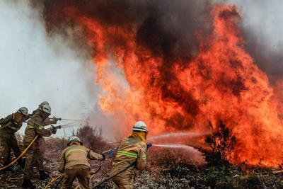 Autoridades expresaron su preocupación ante el regreso de fuertes vientos a la zona.