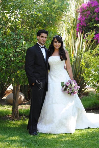 18062017 Alejandra Cepeda Rubio y Francisco Javier Quiñonez Munguía, celebraron su enlace matrimonial el 29 de abril en Zapopan, Jalisco.