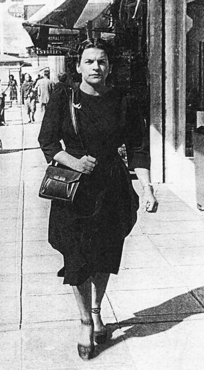 18062017 Josefina Treviño de Alonzo en 1950.