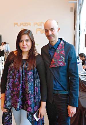 18062017 RECIENTE EVENTO.  Larissa Torres y Rodolfo Durán.