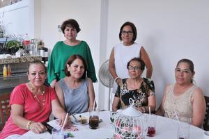 20062017 Coco, Josefina, Martha, Graciela, Lupita y Evelia.