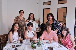 20062017 Cecilia, Lucía, Cecilia, Lorena, Isabel, Libertad y Ginna.