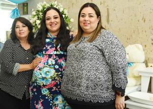 20062017 BABY SHOWER.  Diana Reyes con Alejandra e Irma.