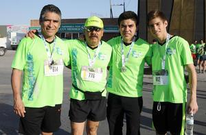 21062017 Miky, Eduardo, Miguel y Carlos.