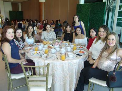 22062017 Yessica, Bere, Cristy, Ana Gaby, Alicia, Liliana, Ana Luisa, Ana Claudia y Bety.