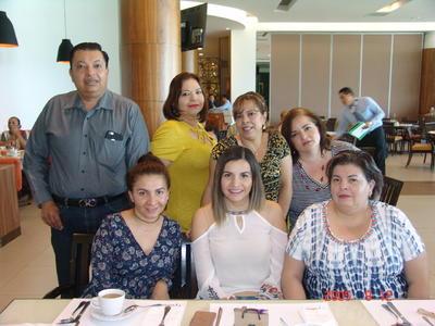 22062017 Jorge, Hazael, Mayela, Francis, Erika, Miriam y Margarita.