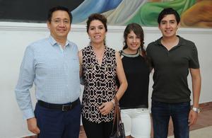 23062017 Martín, Silvia, Lucía y Eduardo.